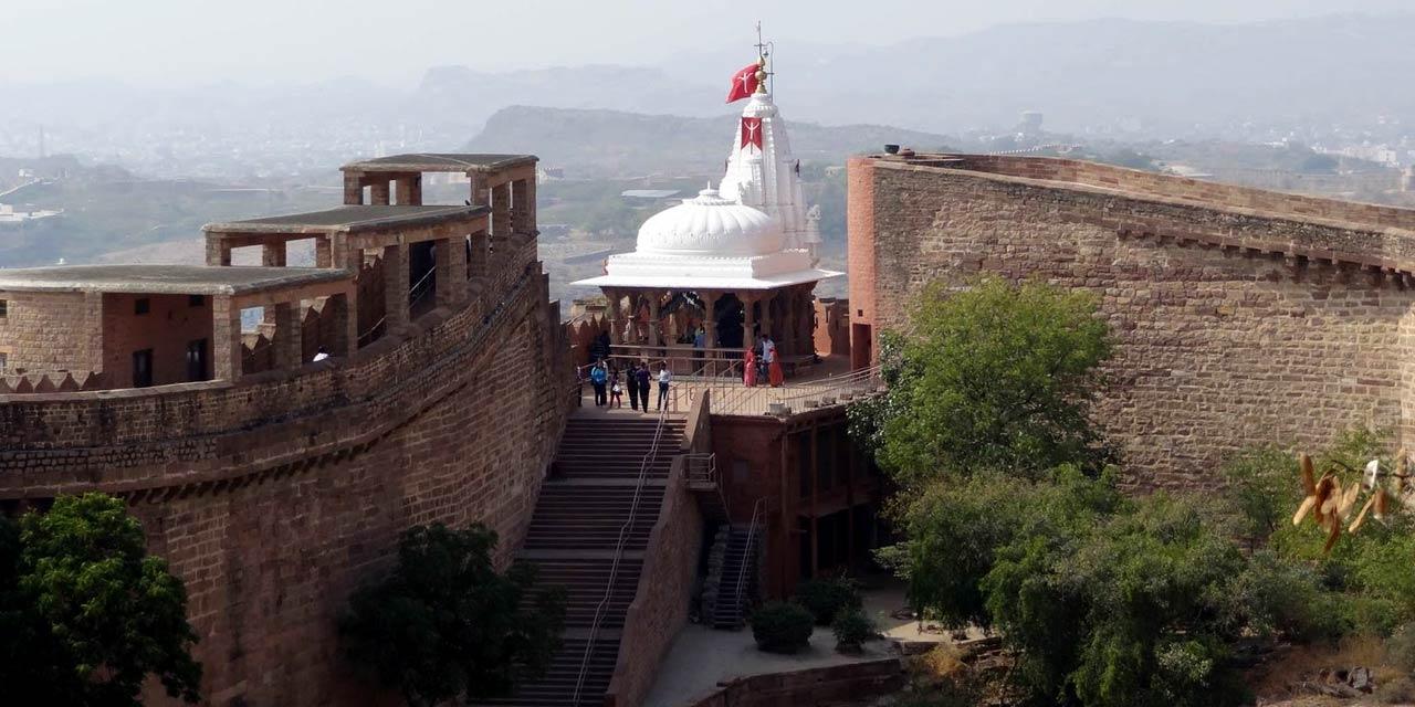 best tourist places in jodhpur rajasthan - chamunda devi mandir jodhpur